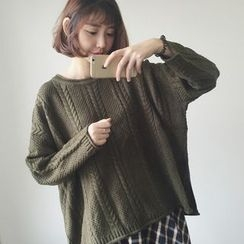 lilygirl - Cable Knit Sweater