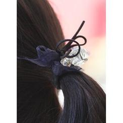 kitsch island - Mesh Bow Hair Tie