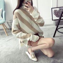 Qimi - Striped Long Sweater