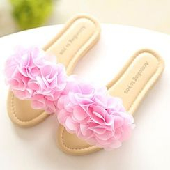 Luco - Kids Rosette Slide Sandals