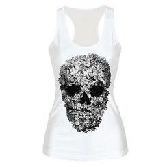 Omifa - Skull-Print Tank Top