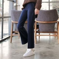 CHICLINE - Boot-Cut Dress Pants