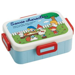 Skater - Sanrio Characters 4 Lock Lunch Box
