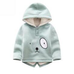 Endymion - Kids Dog Print Fleece Lined Hoodie