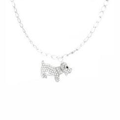 Glamagem - 12生肖动物吊饰 - 忠犬 - 连手链