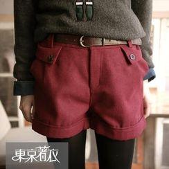 Tokyo Fashion - Cuffed Shorts