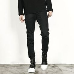 Rememberclick - Fleece-Lined Skinny Jeans