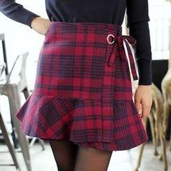 Tokyo Fashion - Plaid Miniskirt