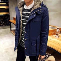 Blueforce - Fleece-lined Hooded Coat
