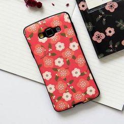 BABOSARANG - Floral Print Samsung Galaxy A7 Case