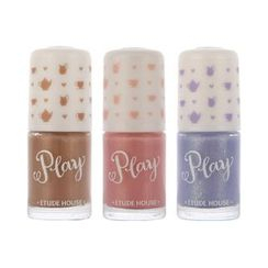 Etude House - Afternoon Tea Play Nail Colors