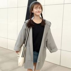 OCTALE - Hooded Long Coat