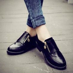 BARCA - Zip Loafers