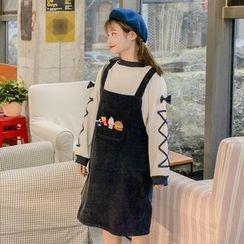 Rocho - Corduroy Jumper Dress