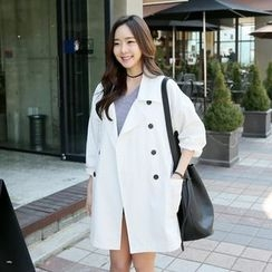 Envy Look - Double-Breasted Oversized Coat