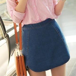 CLICK - Denim Miniskirt