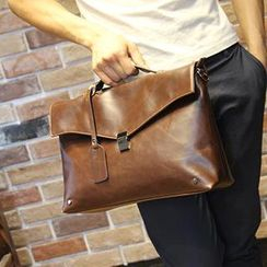 Brickhouse - Faux Leather Satchel