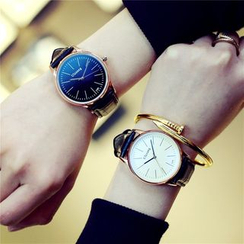 Tacka Watches - Leather Strap Watch