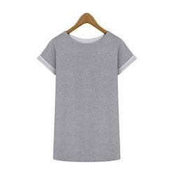 GRACI - Plain T-Shirt Dress