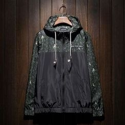 Better Man - Floral Hooded Windbreaker