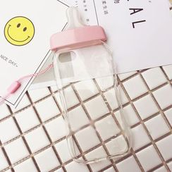 Sakuran - Milk Bottle Mobile Phone Case - Apple iPhone 6 / 6 Plus / 7 / 7 Plus