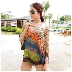 Sunset Hours - Crochet Beach Cover-Up