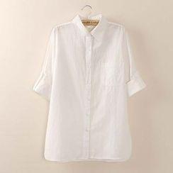 Tangi - Tab-Sleeve Shirt