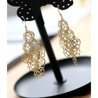 Petit et Belle - Flower Drop Earrings