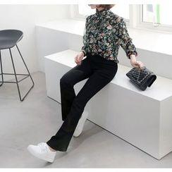Miamasvin - Boot-Cut Dress Pants