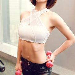 G.LIMITROCK - 交叉帶運動胸罩