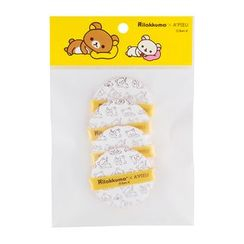 A'PIEU - Air-Fit Tension Pact Puff (Rilakkuma Edition) 4pcs