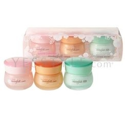 Etude House - Moistfull Cream Favourite Collection:  Flower 25ml + Collagen 25ml + Aloe 25ml