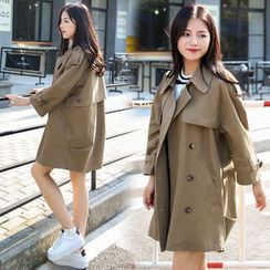 Romantica - Plain Trench Coat