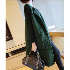 YIDIYU - Long Knit Vest