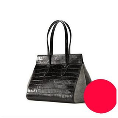 Emini House - Genuine Leather Tote Bag