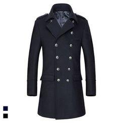 Cipher - 双襟长款大衣