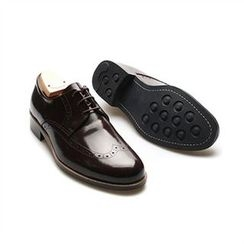 THE COVER - Genuine Leather Wing-Tip Oxfords