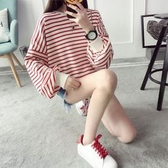 Qimi - Striped Pullover