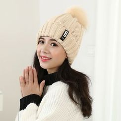 Reyna - Pom Pom Beanie