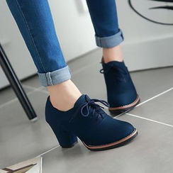 Pangmama - Chunky Heel Oxfords