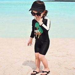 Moonrise Swimwear - Kids Long-Sleeve Swimsuit
