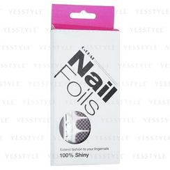 C&CHAT - Nail Foils Sticker (Limited) (20 pcs with Tools: Scissors + Nail Pusher + Nail File)