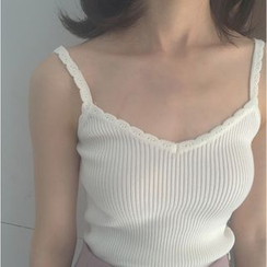 MATO - Ribbed Camisole Top