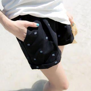 Tokyo Fashion - Drawstring-Waist Printed Shorts