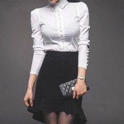 Soraka - Set: Shirt + Ruffled Skirt