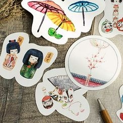Homey House - 一套30個: 日系印花明信片