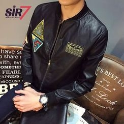 SIRIUS - Faux Leather Jacket