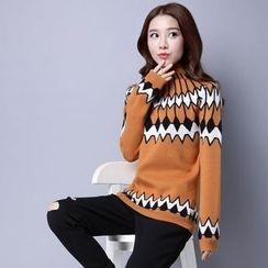 Romantica - Patterned Sweater