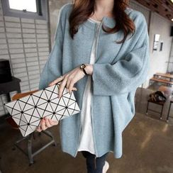 Dream Girl - Dolman-Sleeve Knit Jacket