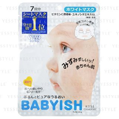 Kose - Clear Turn Babyish White Mask